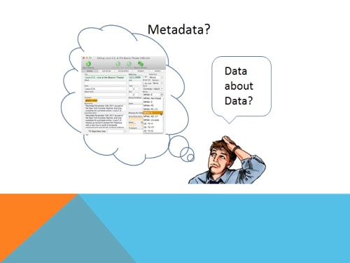 """Metadata"" is a term that is widely used, but understood differently by various professional communities who create, design, describe, preserve and use information systems and resources. Gilliland-Swetland, Anne J. ""Setting the Stage."" in Introduction to Metadata. Online edition, version 3. 2008"